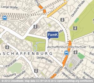 Standort Familienkasse Aschaffenburg