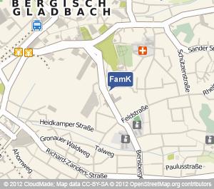 Standort Familienkasse Bergisch-Gladbach