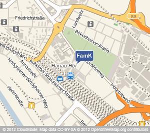 Standort Familienkasse Hanau