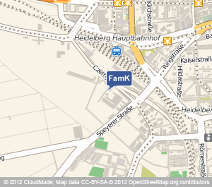 Standort Familienkasse Heidelberg