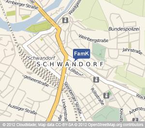 Standort Familienkasse Schwandorf